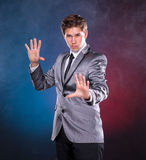Young magician Royalty Free Stock Image