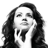 Young magnificent lady Royalty Free Stock Photography