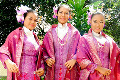 Young malay girls Royalty Free Stock Photos