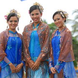 Young malay teens Royalty Free Stock Images
