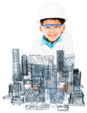Young male architect Royalty Free Stock Photos