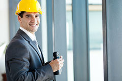 Young male architect Royalty Free Stock Photography