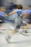 Young Male Athlete in Motion Royalty Free Stock Image