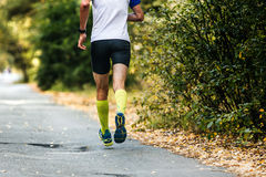 Young male athlete running Royalty Free Stock Photo