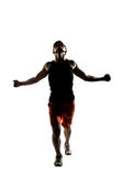 Young male athlete Royalty Free Stock Photos
