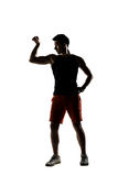 Young male athlete Stock Image