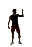 Young male athlete Royalty Free Stock Image