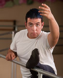 Young Male Ballet Dancer Stock Photography