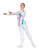 Young male ballet dancer posing Stock Photo