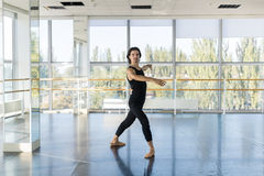 Young Male Ballet Dancer Posing, Man Practicing Stock Image