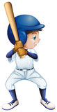 A young male baseball player Royalty Free Stock Photography