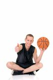 Young male basketball player Royalty Free Stock Image