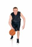 Young male basketball player Royalty Free Stock Images