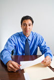 Young Male Businessman Royalty Free Stock Image