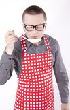 Young male cook Stock Photos