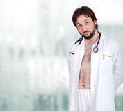 Young male doctor royalty free stock image