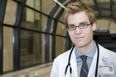Young male doctor Stock Photography