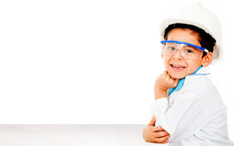 Young male engineer Stock Images