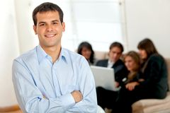 Young male executive Stock Photography