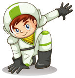 A young male explorer Royalty Free Stock Images
