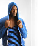 Young male fashion royalty free stock photography