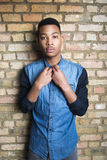Young male fashion model Royalty Free Stock Photo
