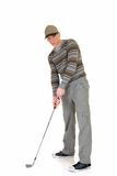 Young male golfer Stock Photos