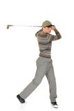 Young male golfer Stock Image
