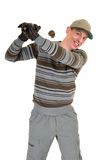 Young male golfer Royalty Free Stock Photo