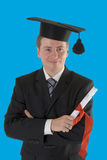 Young male graduate Stock Photos
