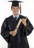 Young male Graduate student Stock Images