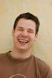 Young Male Laughing Royalty Free Stock Photos