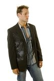 Young male model in casual outfit Royalty Free Stock Photography