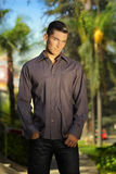Young male model Stock Images