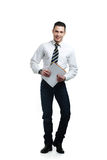 Young male office worker Stock Images