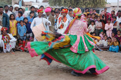 Young male performs Traditional Dance Stock Photos