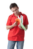 Young male student. Royalty Free Stock Photography