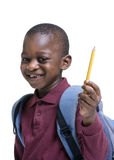 Young Male Student. Education is the key you our youth's future. Educate, childhood, youth, success Royalty Free Stock Photos