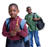 Young Male Student. Education is the key you our youth's future. Educate, childhood, youth, success Royalty Free Stock Images