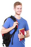 Young male student with books Stock Image