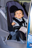 Young Male Toddler In Car Seat Royalty Free Stock Photography