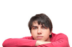 The young man Stock Photography