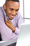 Young man, african american stock photography