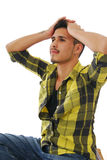 Young man with ambition Stock Photography
