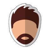 Young man avatar character Royalty Free Stock Image