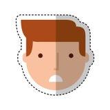 Young man avatar character Stock Photos