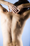 A young man, back view Stock Image