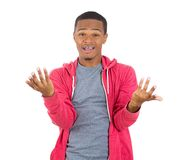 Young man with a bad attitude Royalty Free Stock Images