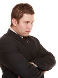 Young man in bad mood, gloomy Royalty Free Stock Image