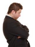 Young man in bad mood, gloomy Stock Photo